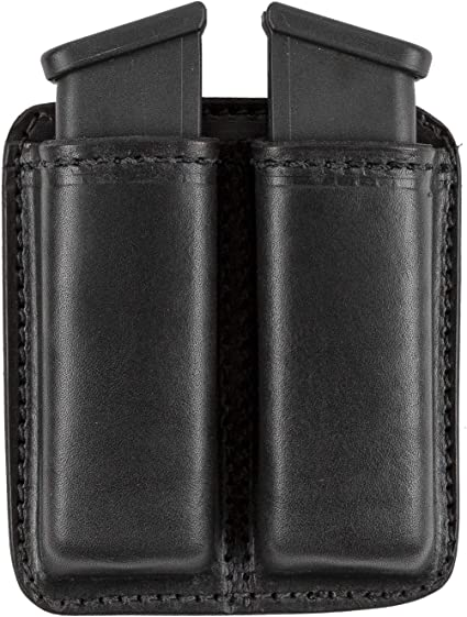 Relentless Tactical Leather Double Magazine Holder Made In Usa Sizes To Fit Virtually Any 9mm 40 Or 45 Caliber Pistol Mag Single Or Double Stack Iwb Or