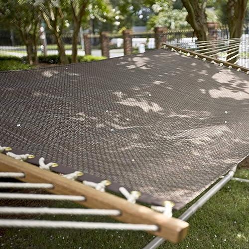 Castaway Hammocks Large Quick Dry Textilene Poolside Hammock, Bronze