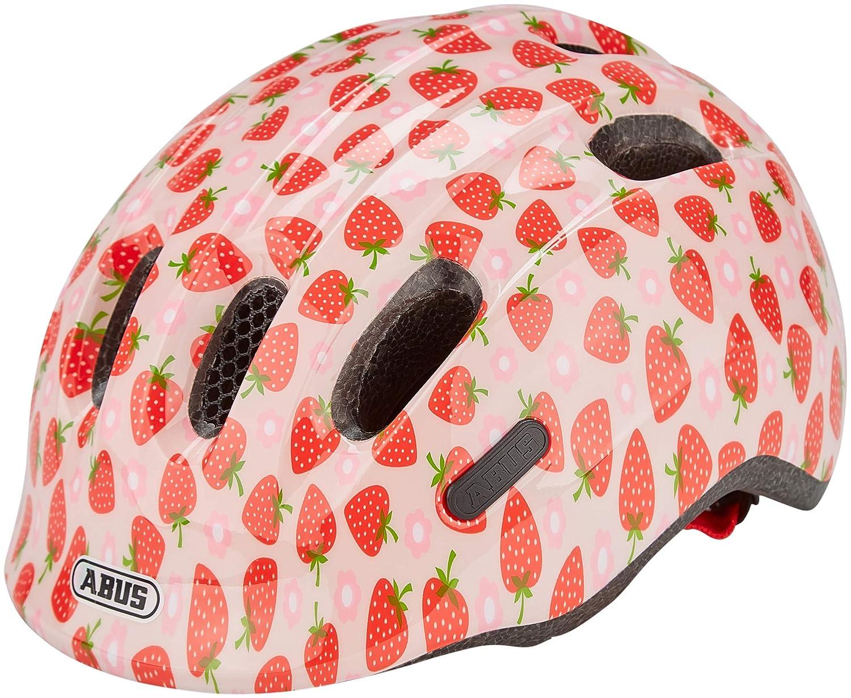 ABUS Casque de v/élo Smiley 2.1 rose Strawberry
