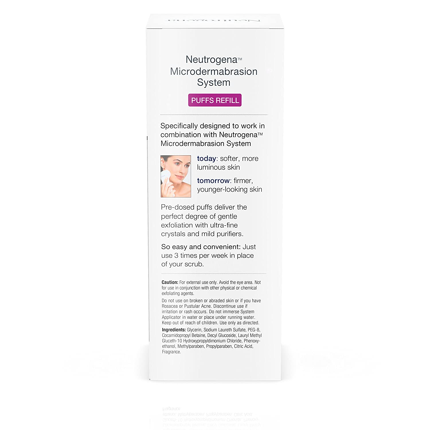 Amazon : Neutrogena Microdermabrasion System Exfoliating Puff Refills,  24 Count : Facial Treatment Products : Beauty
