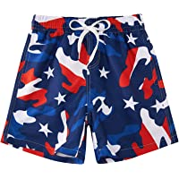 Cozople 7-16T Teen Boys Swim Trunks Quick Dry UPF 50+ Swimwear Bathing Suit for Boys Beachwear Swimming Boards Shorts