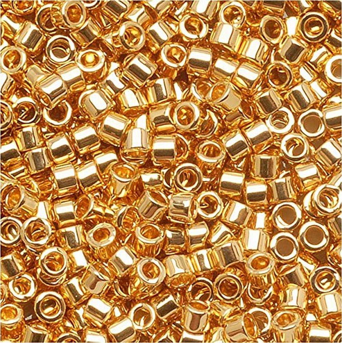 Seed Beads 11-2020 Miyuki Seed Beads 110 Matte Metallic Green Iris 10 grams  diy beads