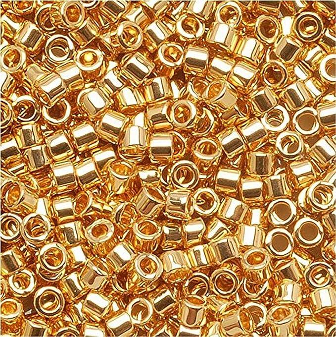 Miyuki Japanese Delica Cylindar Seed Beads 110-11 Ought Color # 1341 Lot of 15 Grams Miyuki Delica 110 Seed Beads