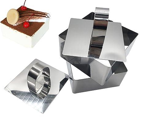Amazon.com: KOOTIPS - Juego de 4 anillos de acero inoxidable ...