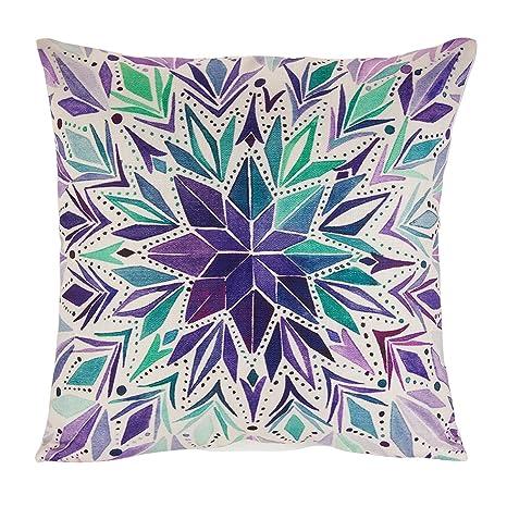 Avanzza, copricuscino, 40 x 40 cm, decorativo, per cuscini