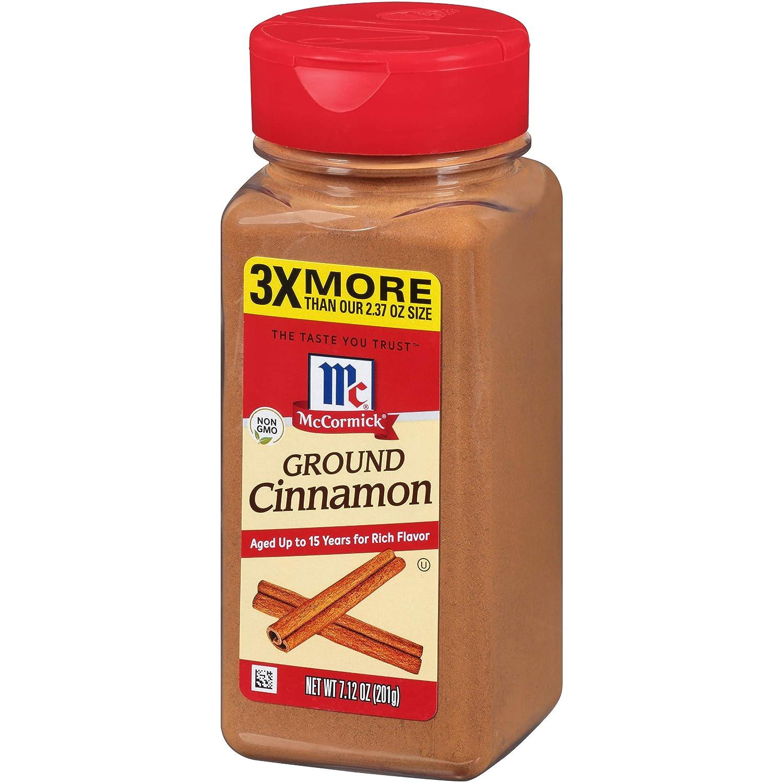 McCormick Ground Cinnamon, 7.12 oz
