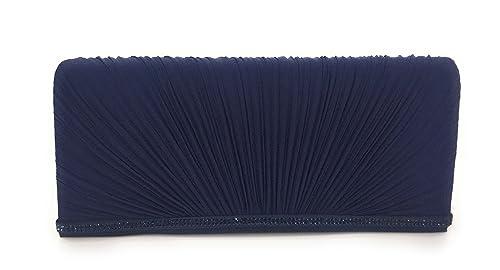 O6 MILANO - Cartera de mano para mujer Azul turquesa UNICA: Amazon.es: Zapatos y complementos