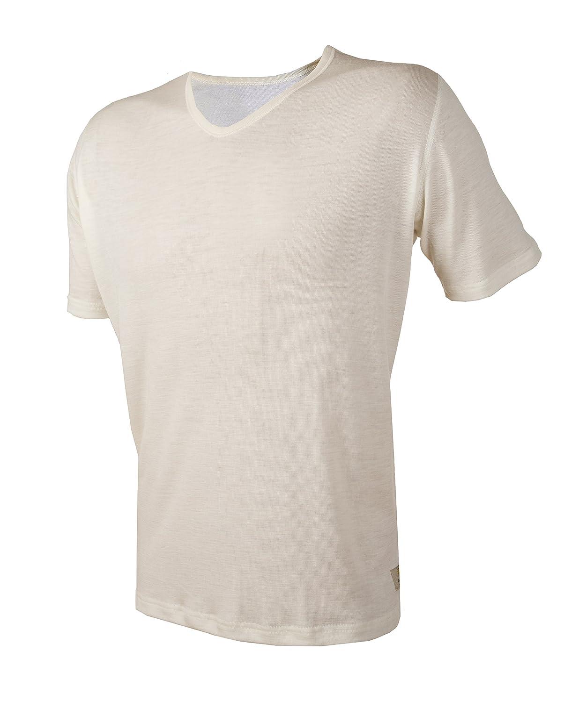 Janus 100% Merino Wool Men's Underwear T-Shirt Machine Washable Made in Norway