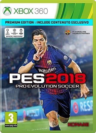 Pro Evolution Soccer 2018 (Premium Edt.): Amazon.es: Videojuegos