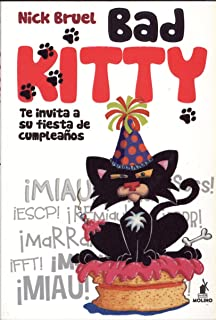 Bad Kitty: te invita a su fiesta de cumpleaños (Spanish Edition)