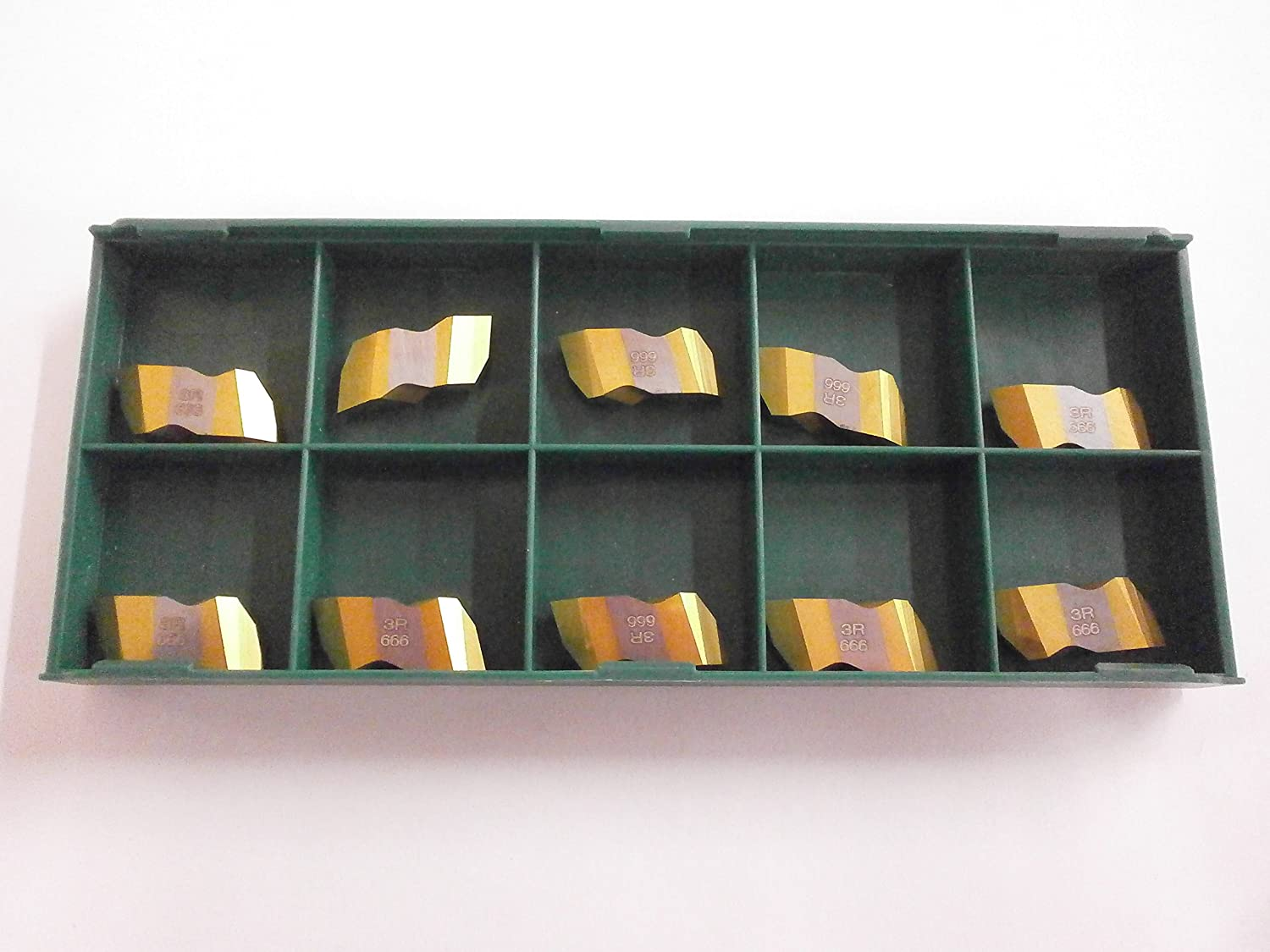 ToolFlo FLT 3L C3 Top Notch Coated Carbide 60/° V Threading Inserts NT 3L Made in USA 10pc