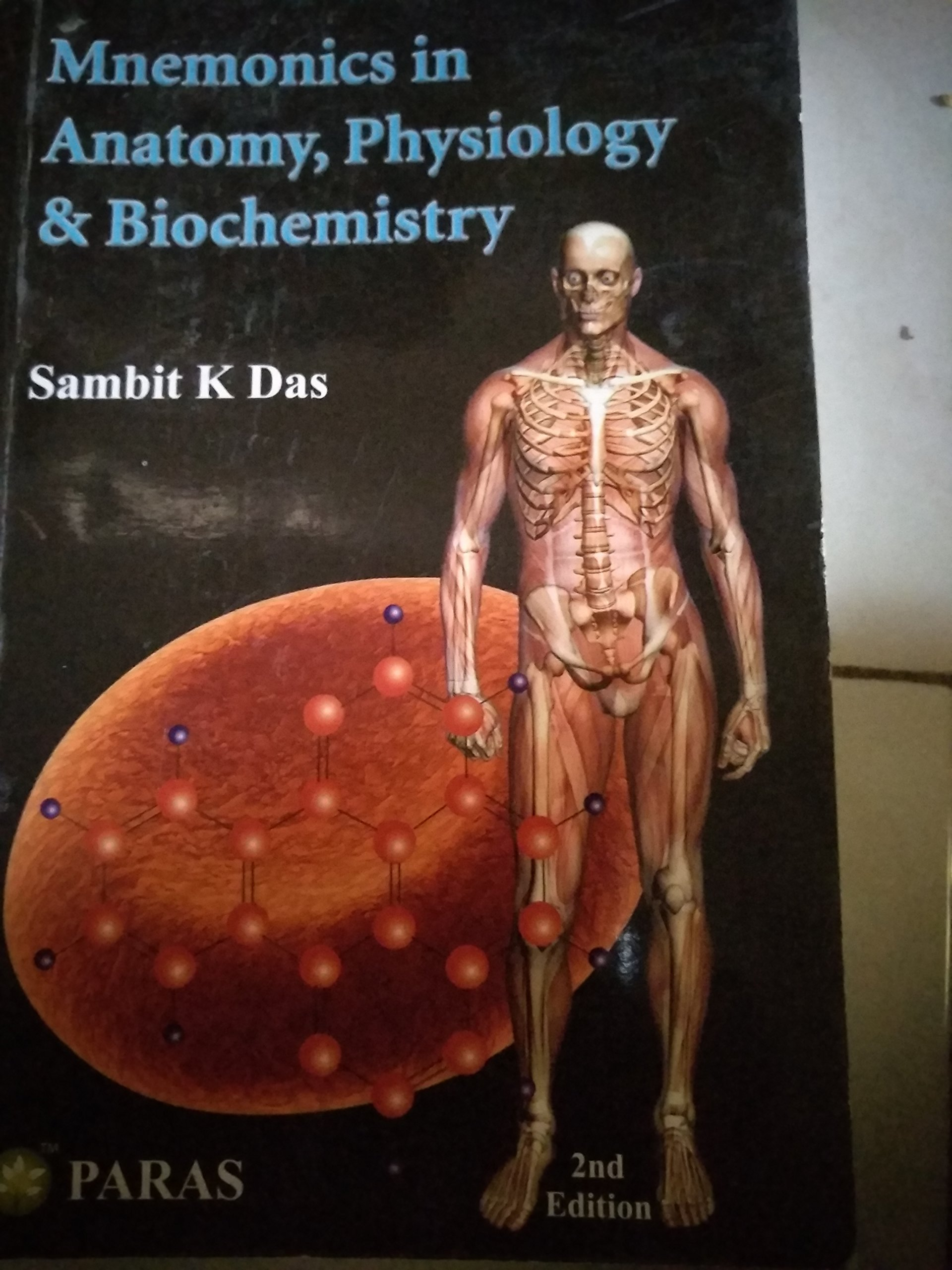 Amazon.in: Buy Mnemonics in anatomy physiology and biochemistry by ...