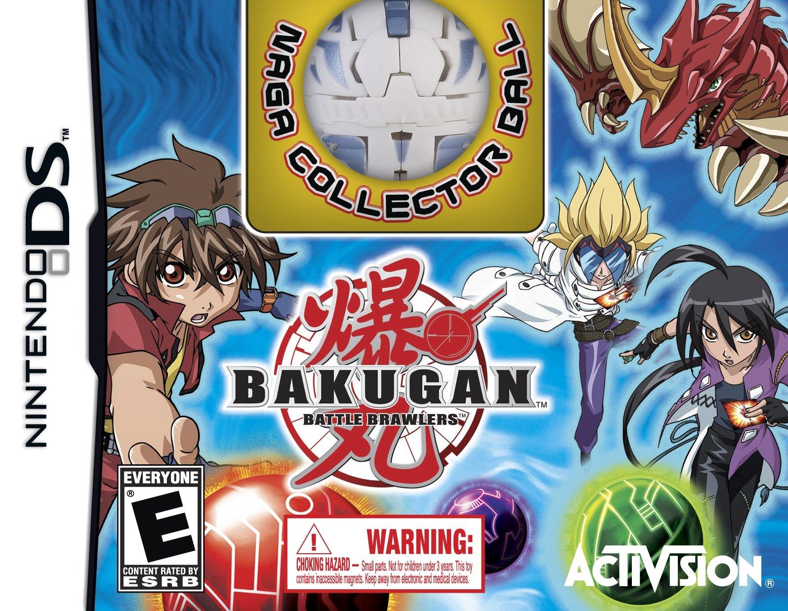 Bakugan Battle Brawlers Collector's Edition with NAGA Collector Bakugan Ball - Nintendo DS