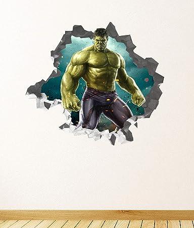 Amazon.com: Avengers Endgame Hulk Wall Decal Sticker ...