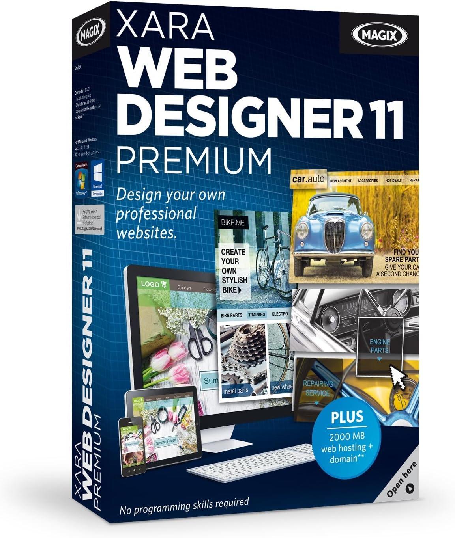 Amazon Com Xara Web Designer 11 Premium Software