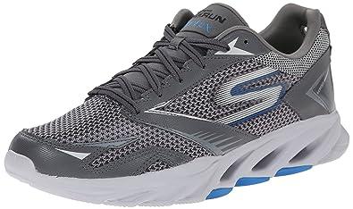 skechers running shoes. skechers performance men\u0027s go run vortex running shoe , charcoal/blue, shoes r