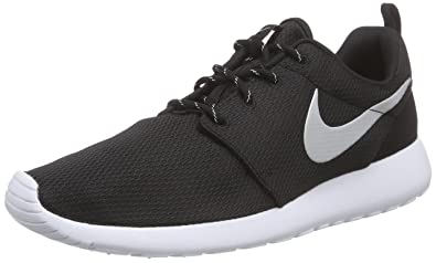 buy popular c87a3 7281e Nike Roshe Run 511882, Damen Sportschuhe, Schwarz (Black White), 35.5