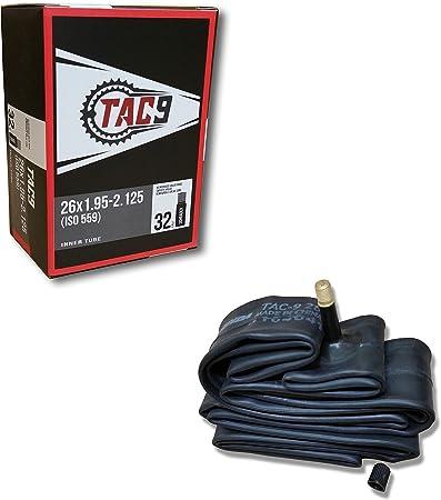 """26/"""" Schrader inner tubes x 2    1.75/"""" 2.125/"""""""