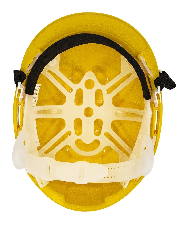 Workwear World Scaffolders Climbers Climbing Safety Helmet Hard Hat With Chin Strap