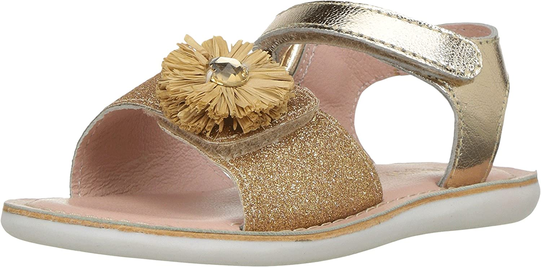 538ab0a9ce581 Amazon.com: Pazitos Baby Girl's Mini Girasole (Toddler) Gold Shoe: Shoes