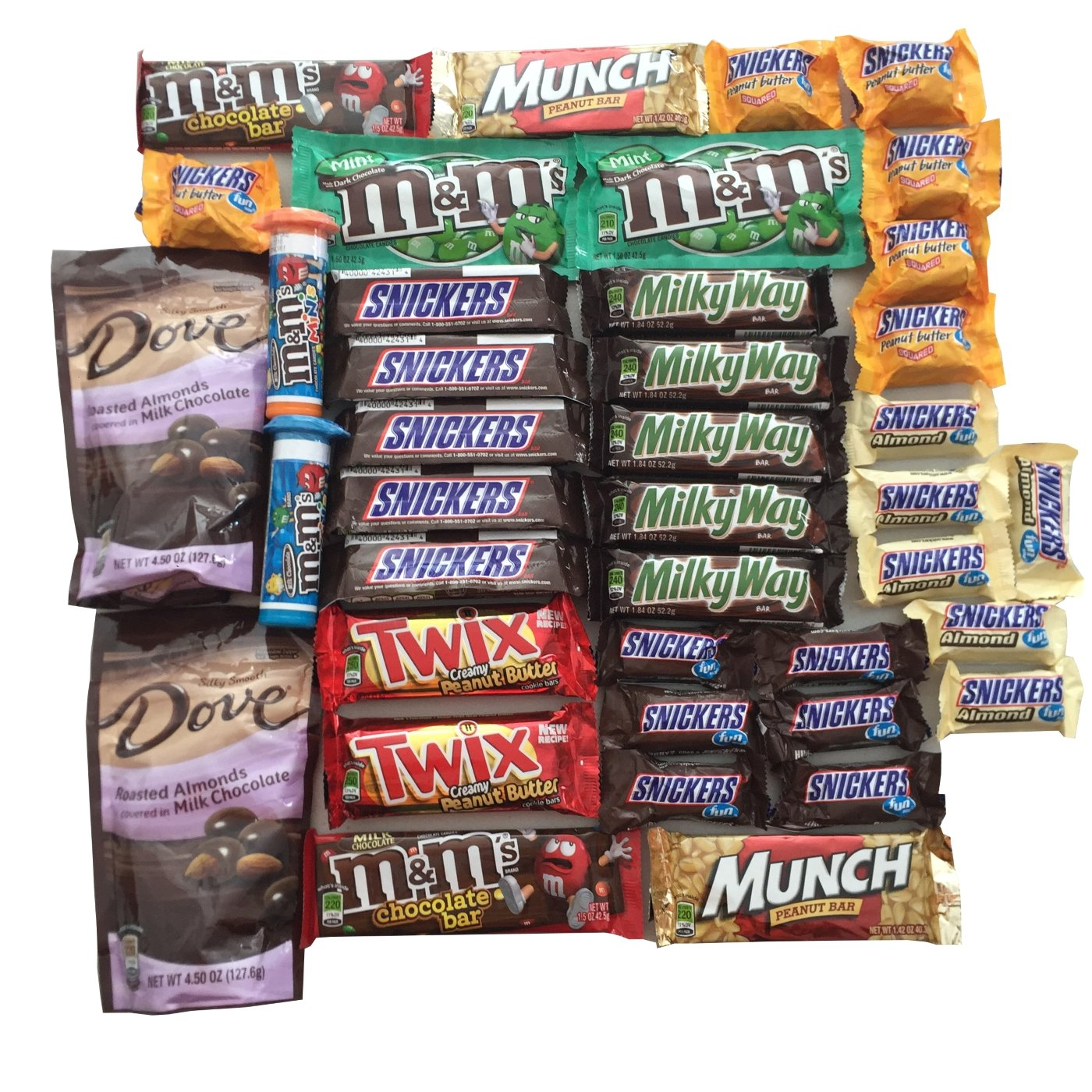 Amazon mars 40 count chocolate candy easter gift basket amazon mars 40 count chocolate candy easter gift basket stuffer mothers day care package for boyfriend in military college student variety pack negle Images