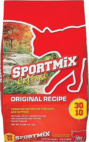 Sportmix Original Recipe Dry Cat Food, 31 Lb.