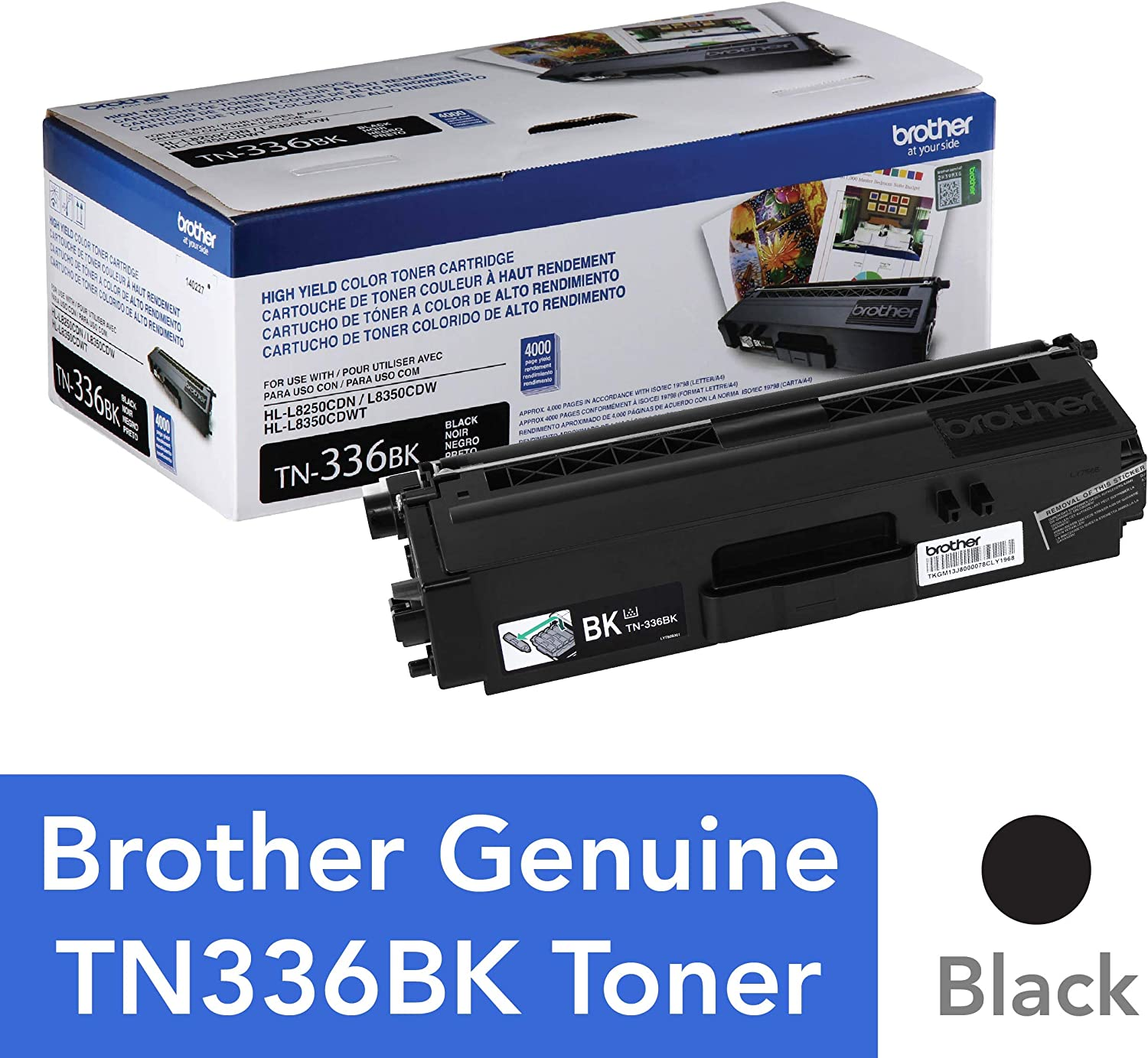 8 pack TN336 Set for  HLL8350CDWT Printer FREE SHIPPING!
