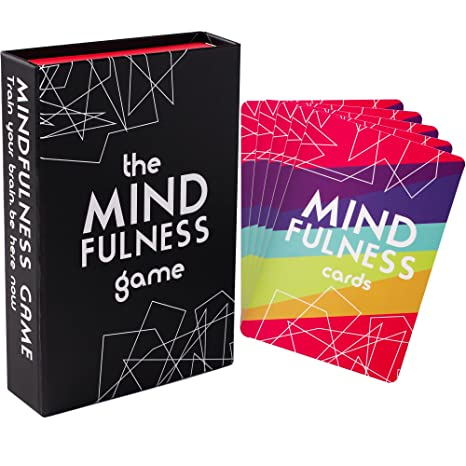 Mindfulness Therapy Games: Social Skills Game That Teaches Mindfulness for  Kids, Teens and Adults | Effective for Self Care, Communication Skills | 40