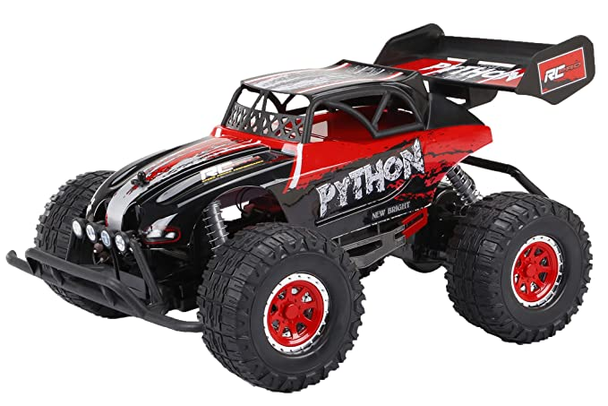 Amazon.com: New Bright Pro Plus Python Radio Control Vehicle: Toys & Games