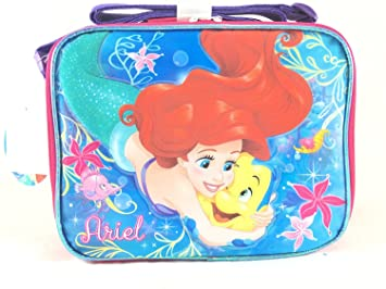 50d4e7a0984 Image Unavailable. Image not available for. Color  Disney Princess Mermaid Lunch  Bag Box-A05862