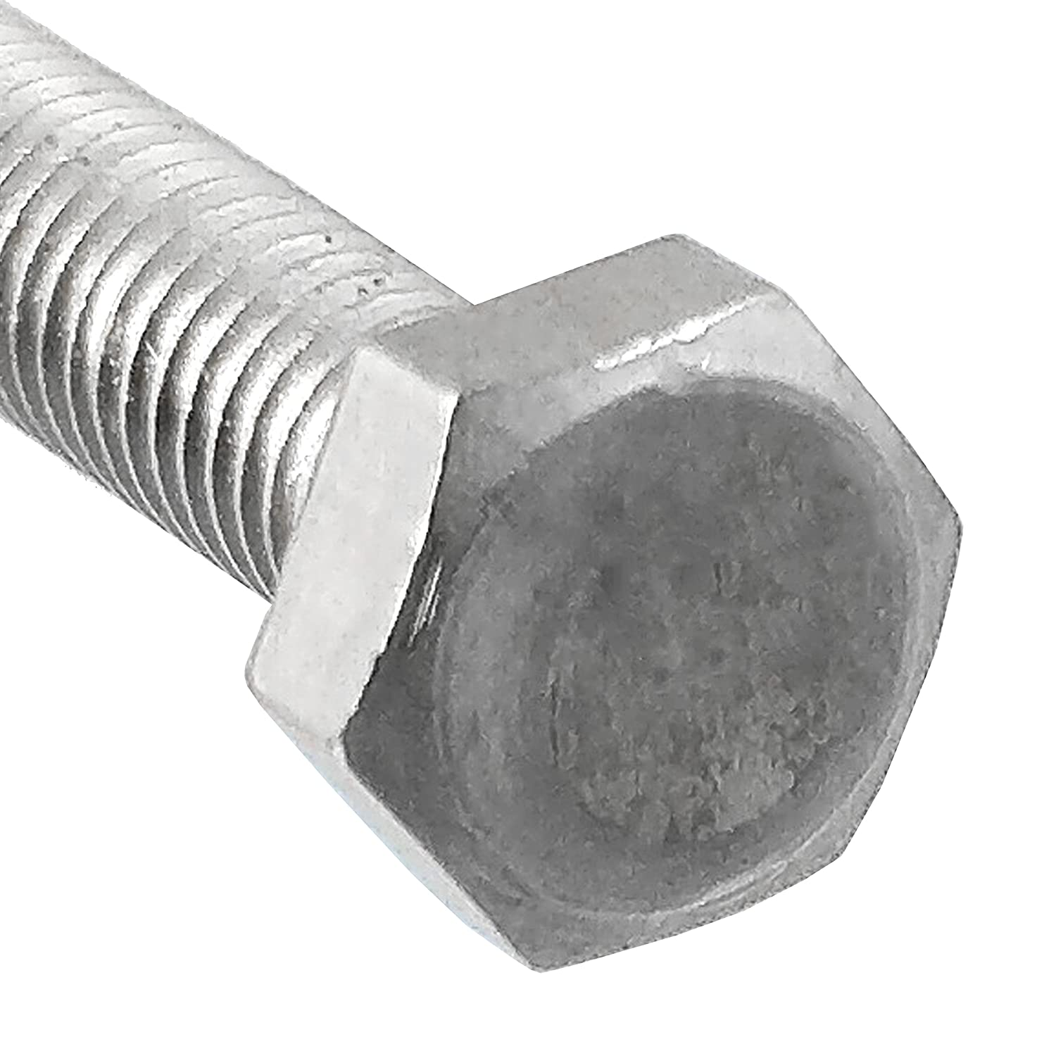 25mm Long M16 Stainless Steel Hex Head Screws Pack of 5 2mm Pitch