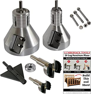 product image for Lumberjack Tools 2-Piece Industrial Series Starter Kit (ISK2)