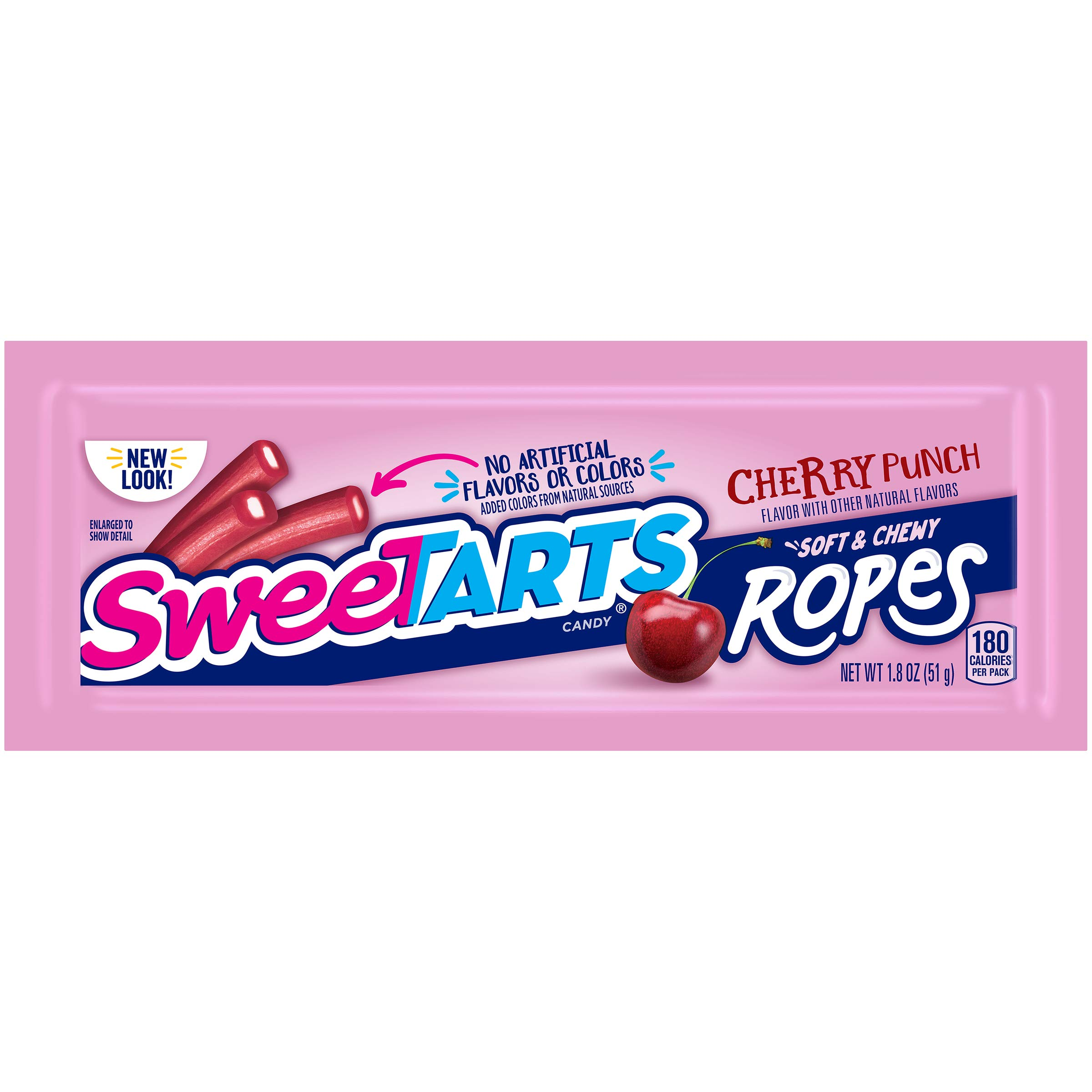 SweeTARTS Ropes, Cherry Punch, 1.8 Ounce, (Pack of 24) by SweeTARTS