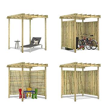 Gut gemocht FATMOOSE Pergola Pavillon SolidShelter Holz Gartenpavillon KI53