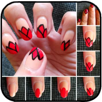 Amazon.com: Nails Art Steps: Appstore for Android