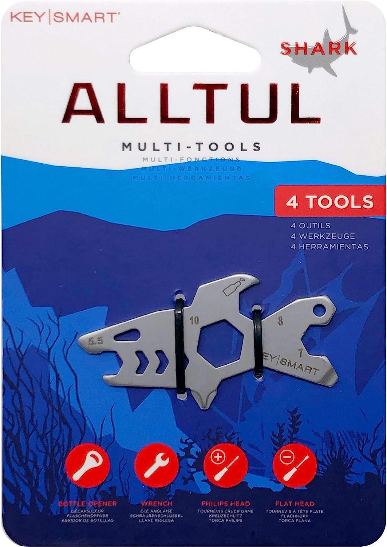 KeySmart AllTul Multitool - Shark