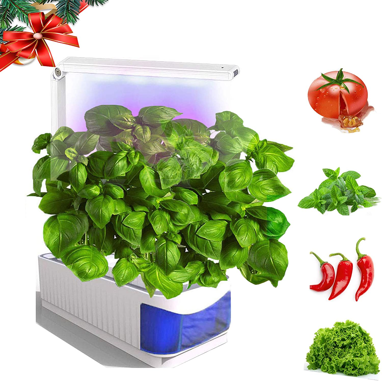 Sprout LED Light, Smart Indoor Herb Garden Kit, Herb Garden Hydroponics Growing System, Christmas Led Desktop Light for Home/Kitchen/Room/Office,Smart Indoor Growing Lamp for Flower/Fruit/Vegetable