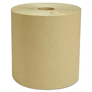 Cascades H285 Decor Hardwound Roll Towels, Natural, 7 7/8