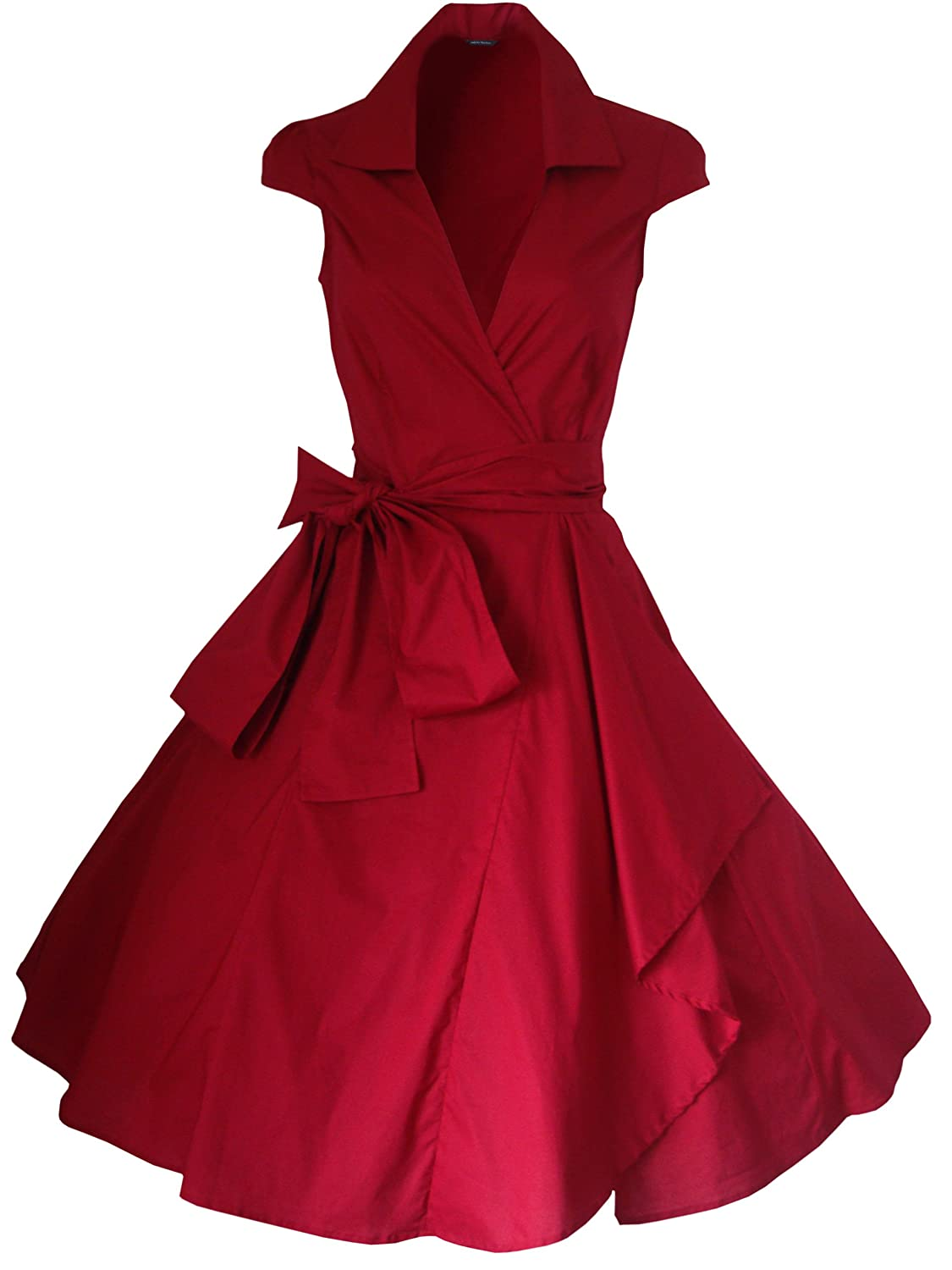 look for the stars Womens 50s Style Rockabilly Dress Sizes 4-22 at Amazon Womens Clothing store: