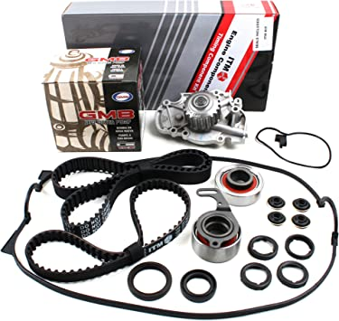 Water Pump Set /& Valve Cover Gasket w// Grommets, Spark Plug Seals 113 Round Teeth New ITM186WPVC Timing Belt Seal Kit for Honda 2.2L F22A F22B S