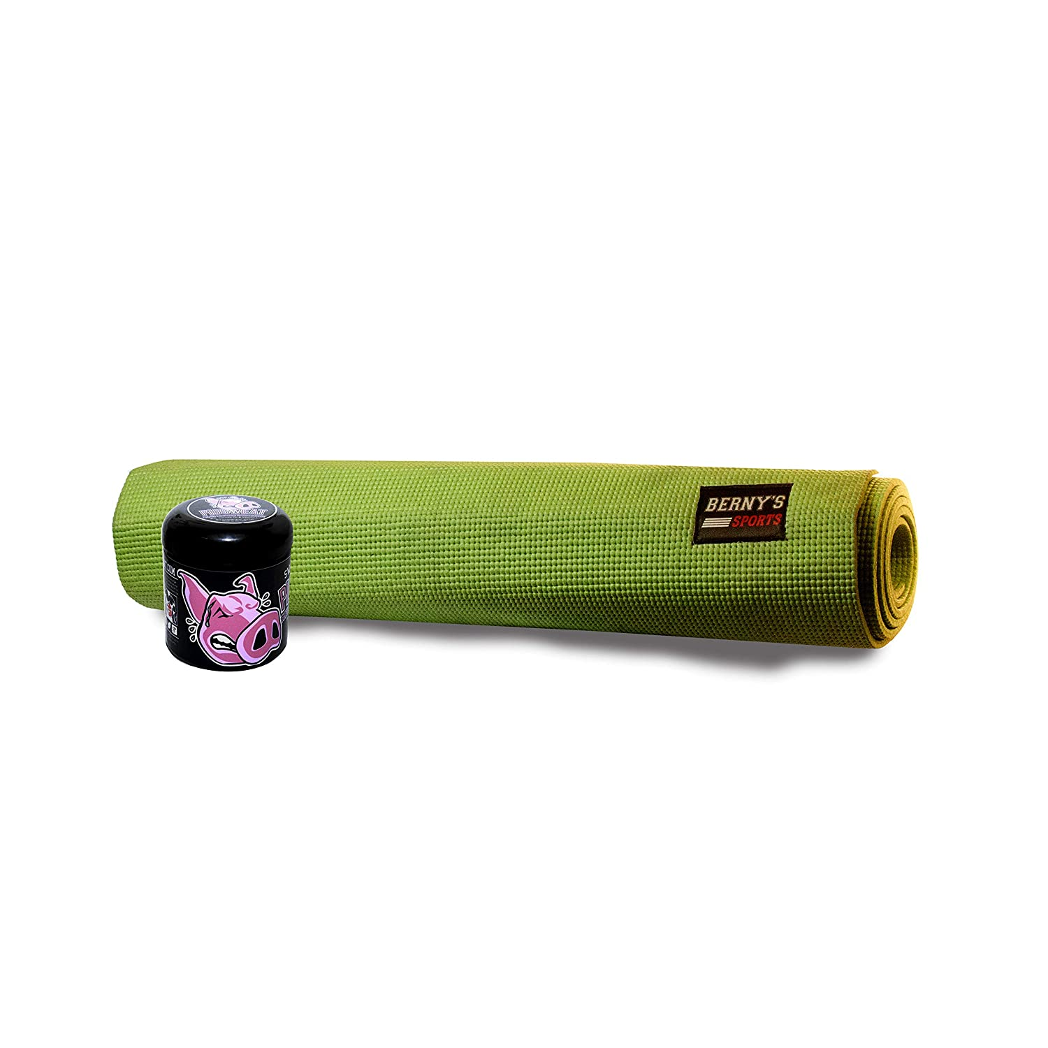 Amazon.com : PigSweat Hot Yoga Combo - Yoga Mat + Sweat ...