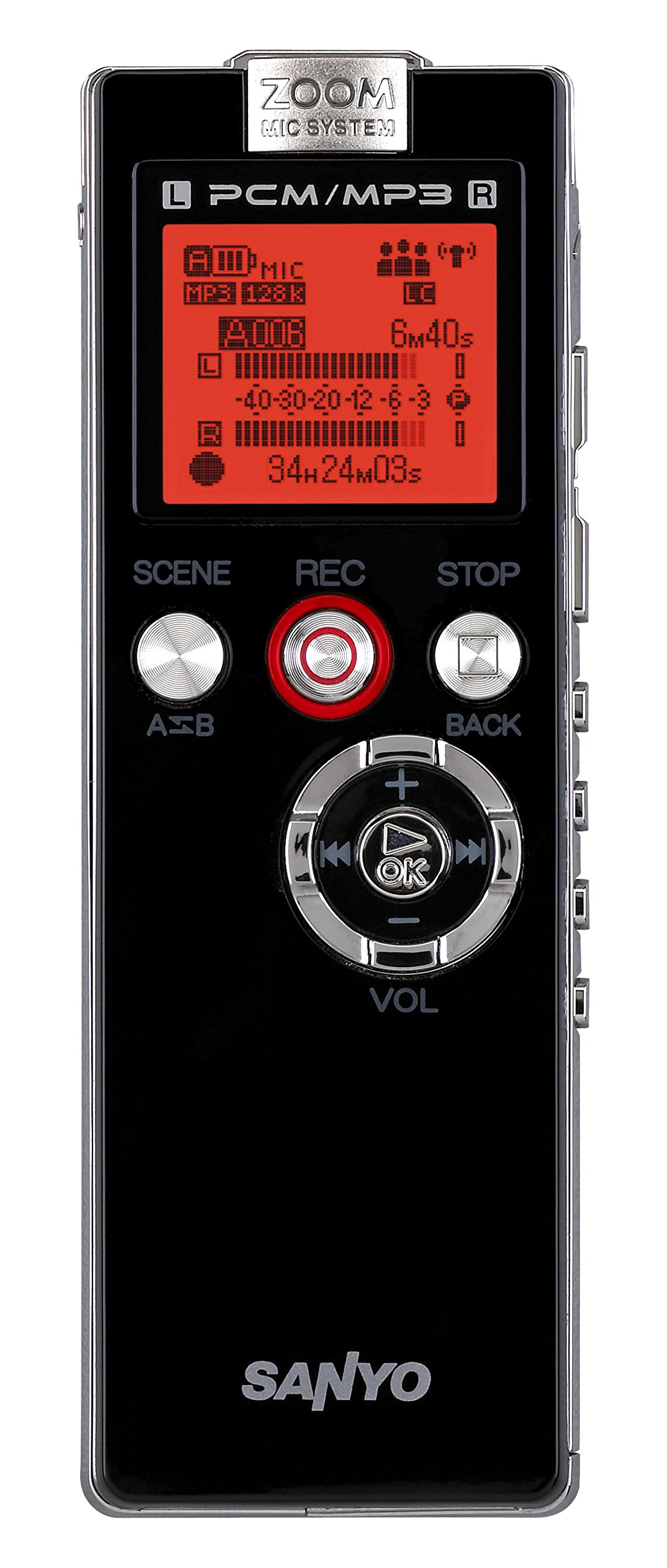 Sanyo ICR-EH800D Digital Voice Recorder (ICR-EH800D) by Sanyo