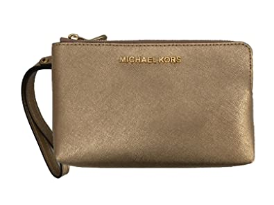 844c7b356aaa Image Unavailable. Image not available for. Color  Michael Kors Jet Set  Travel Large Double Gusset ...