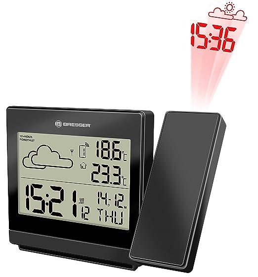 Bresser TemeoTrend P RC - Estación Meteorológica, Color Negro