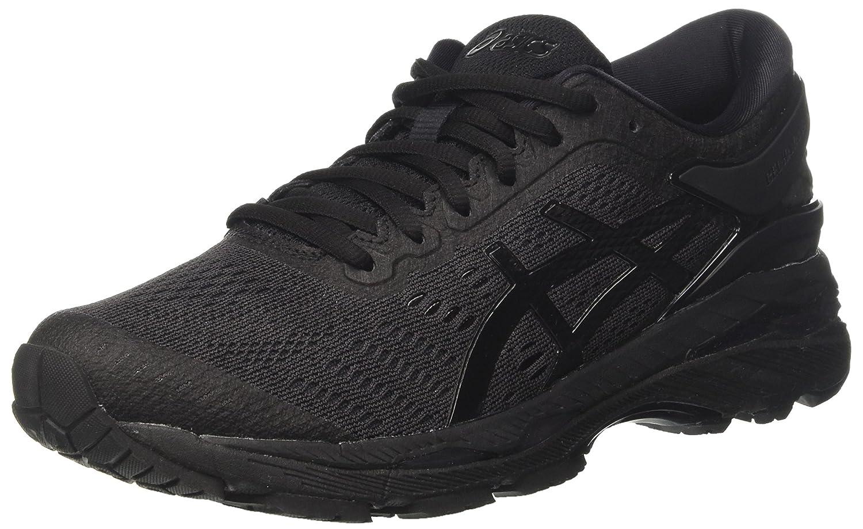 Asics Gel-Kayano 24, Zapatillas de Entrenamiento para Mujer 36 EU Negro (Black/Black/Carbon 9090)