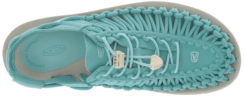 KEEN Women's Uneek-W Sandal B071DFLM8M 8.5 B(M) US|Aqua Sea/Pastel Turquoise