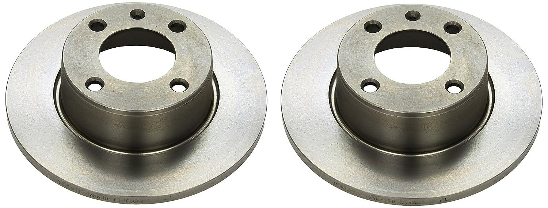 Ate 24.0112-0143.1 Rotores de Discos de Frenos Set de 2