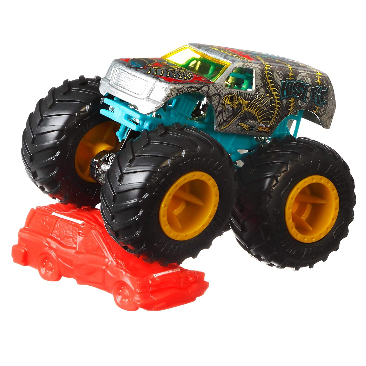 Buy Hot Wheels Monster Trucks 1 64 Assorted Online At Low Prices In India Amazon In
