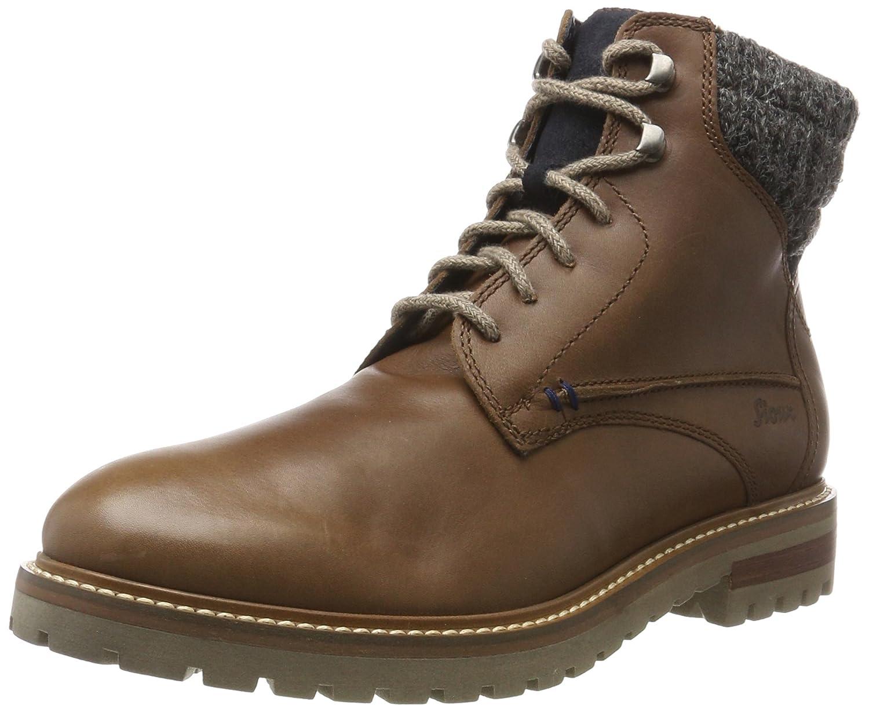 Sioux Safiro-Lf, botas Chukka para Hombre marrón (Wood Navy gris 003)
