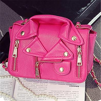 d50208e3fc B dressy Designer Women Messenger Bags Mini Black Jacket Bag Handbags Pink Shoulder  Bag Chain Crossbody